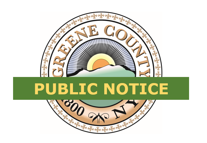 Notice Of Public Hearing – Local Law Introductory #1 of 2017