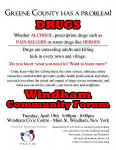 PAS IT ON Windham forum flyer