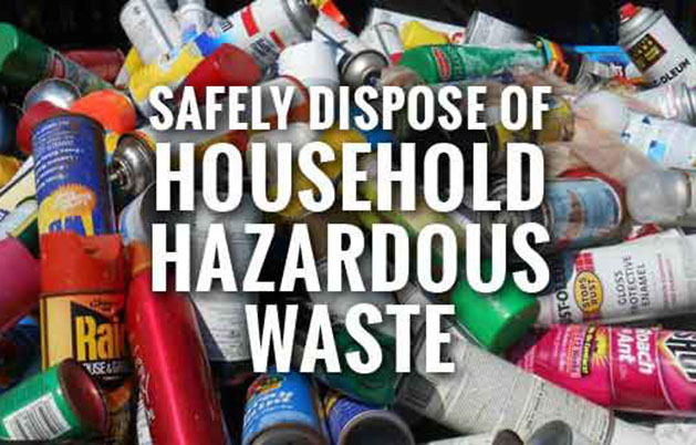 Household Hazardous Waste Collection – Saturday June 18th