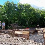 Hunter Tower Foundation Footings
