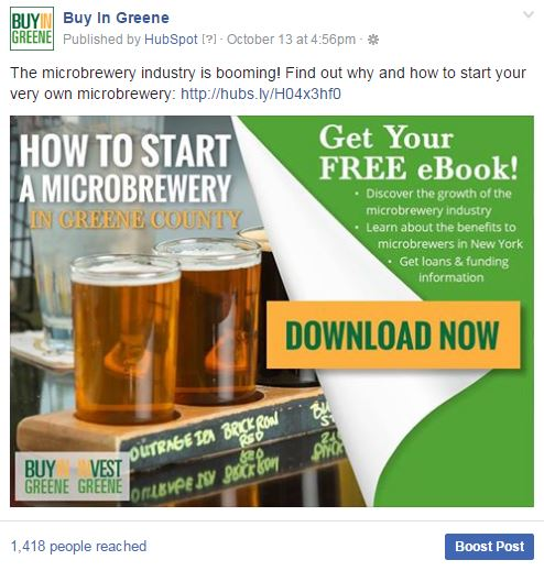 start a microbrewery in greene county ny